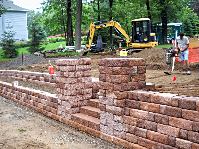 Retaining Walls and Patios